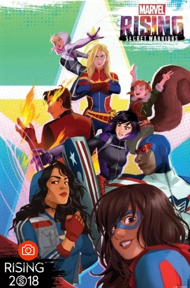 دانلود انیمیشن Marvel Rising: Secret Warriors 2018    Genndy Tartakovsky